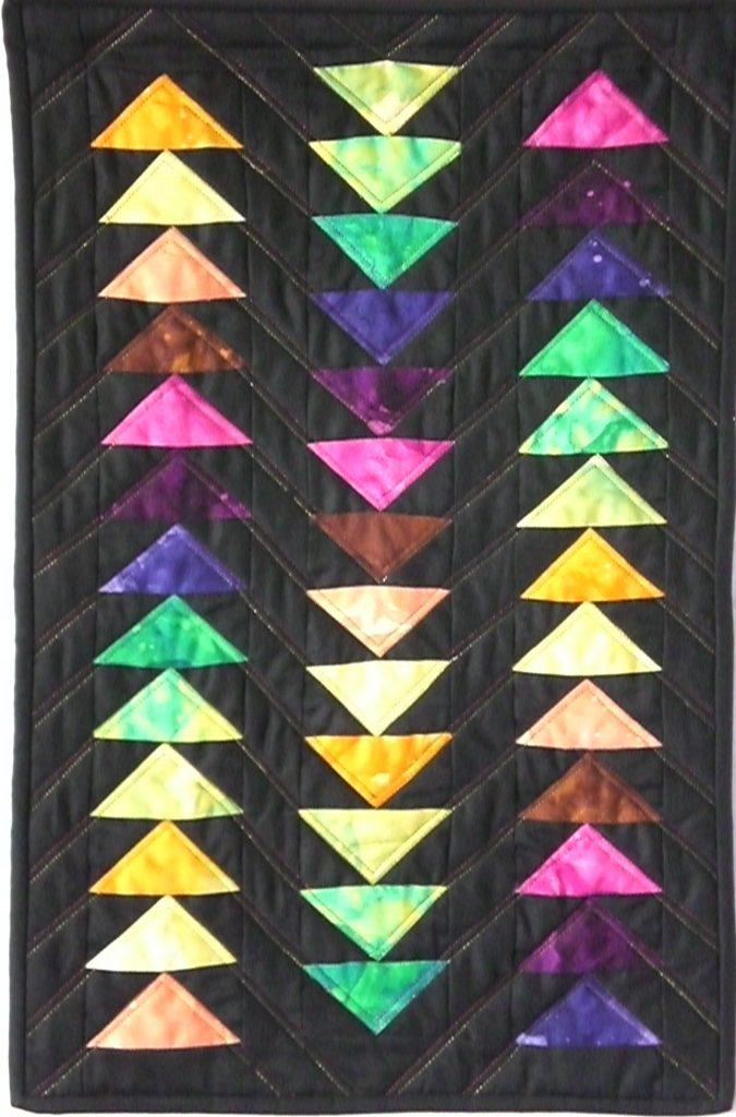 Toegang tot de site van Tineke van Baren. Zij maakt texttiel kunst
